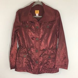 Ruby Rd Womens Jacket Size 10 Rust Color